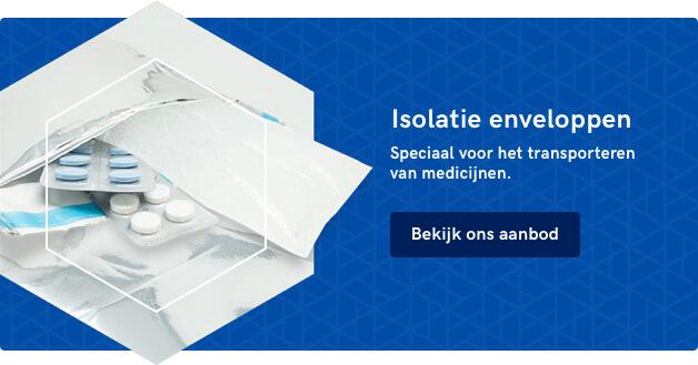 Isolatie envelop van De Ridder Packaging